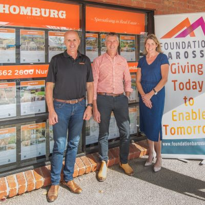 Foundation Barossa partner with Homburg Real Estate