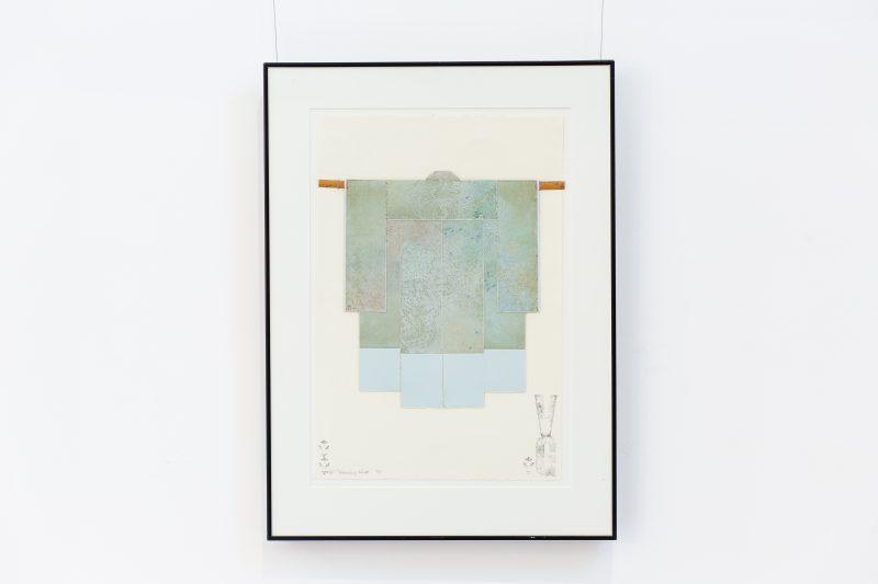 #49 Kimono - Valerie Georgeson  |  Mixed Media  |  74x54x3  |  1989