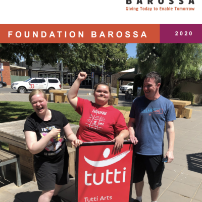 2019/2020 Foundation Barossa Annual Report