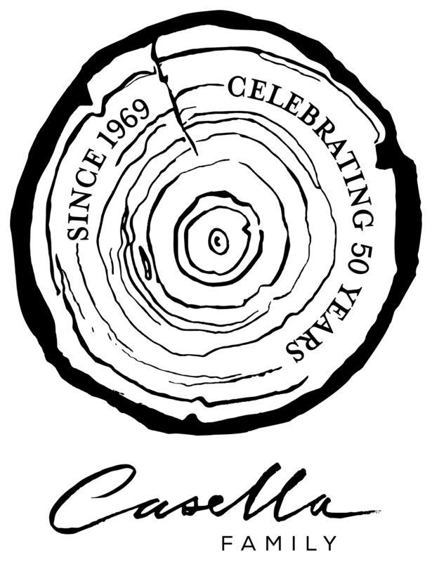 Casella_50YRS_Logo
